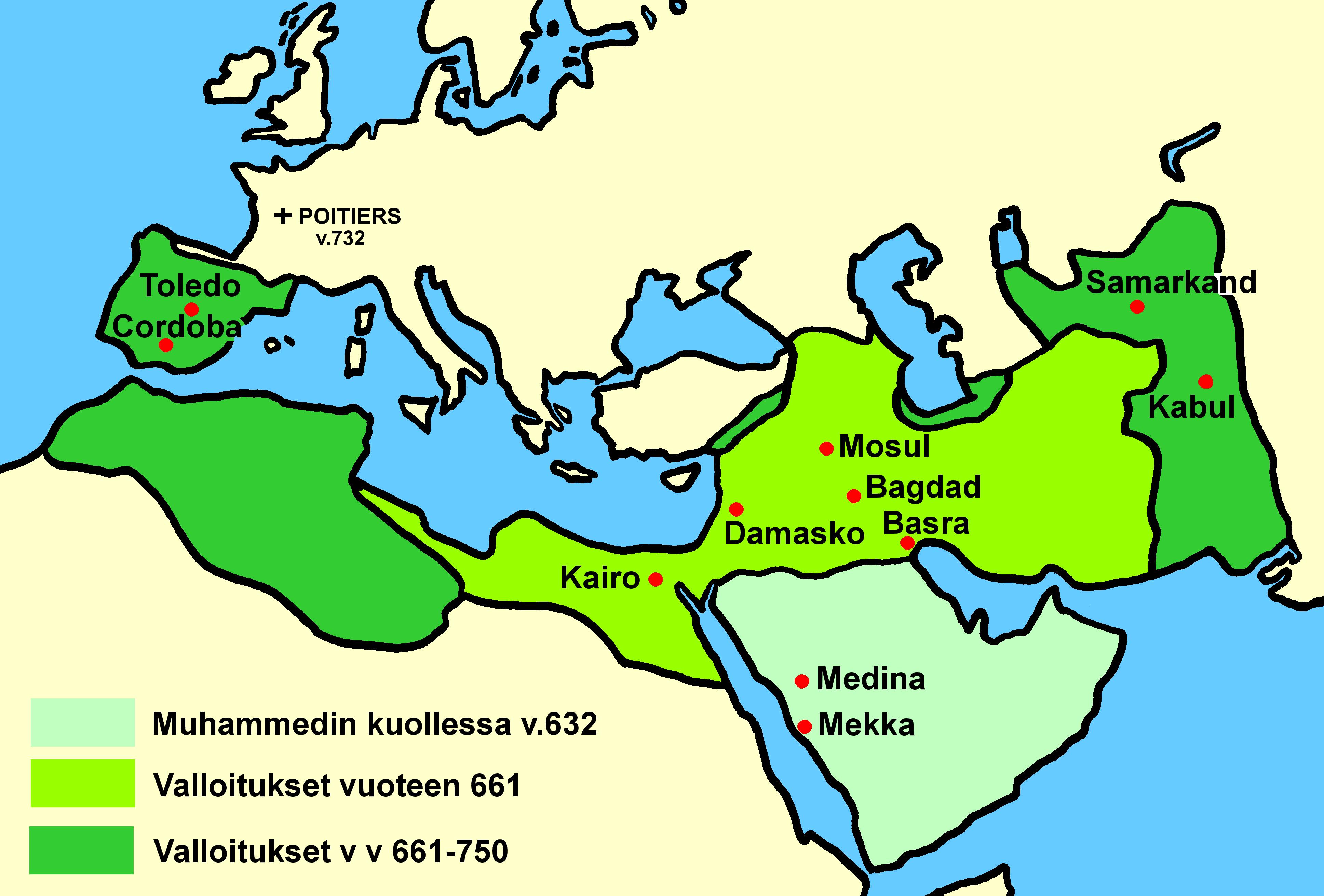 Islamin Levinneisyys